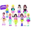 Фигурка МАТТЕЛ Polly Pocket Полли и машина Х4006-967В